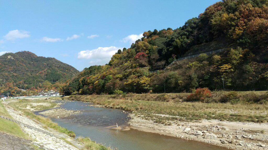 根の谷川河川敷